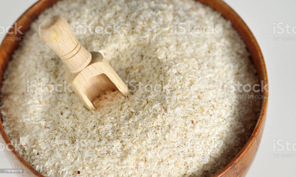 psyllium seed stock photo