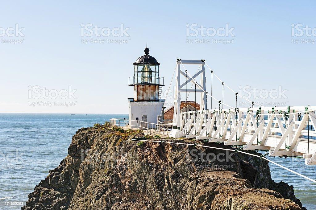 Pt Bonita Lighthouse S stock photo