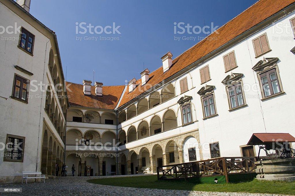 Ptuj castle stock photo