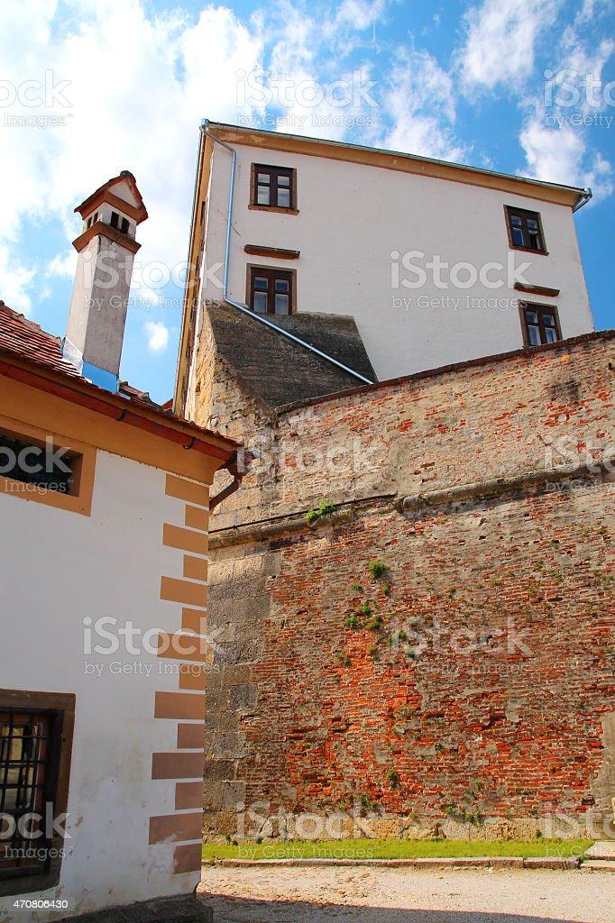 Ptuj castle, Slovenia stock photo