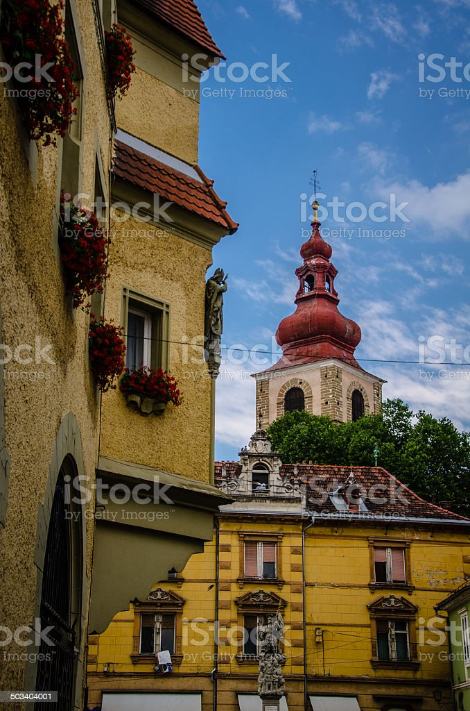 Ptuj, Slovenia stock photo