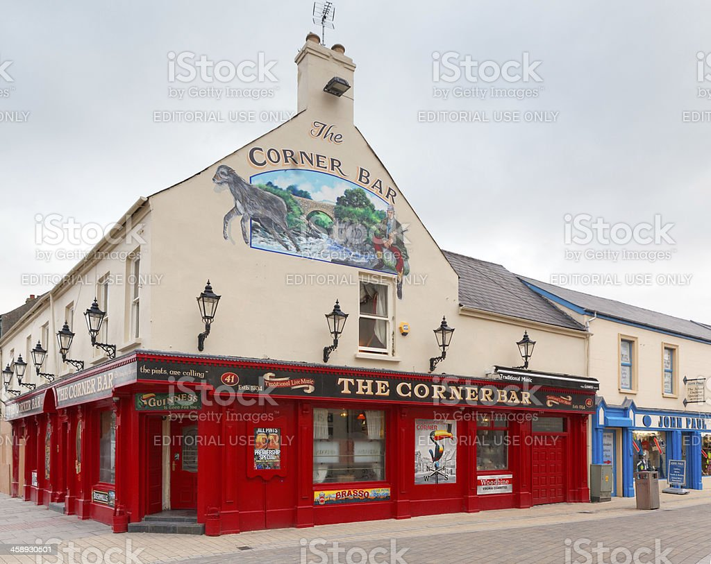 Pub in Northern lreland royalty-free stock photo