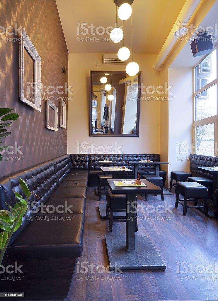 Pub interior royalty-free stock photo