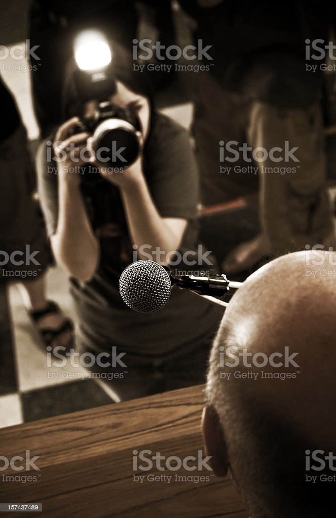 Public Address royalty-free stock photo