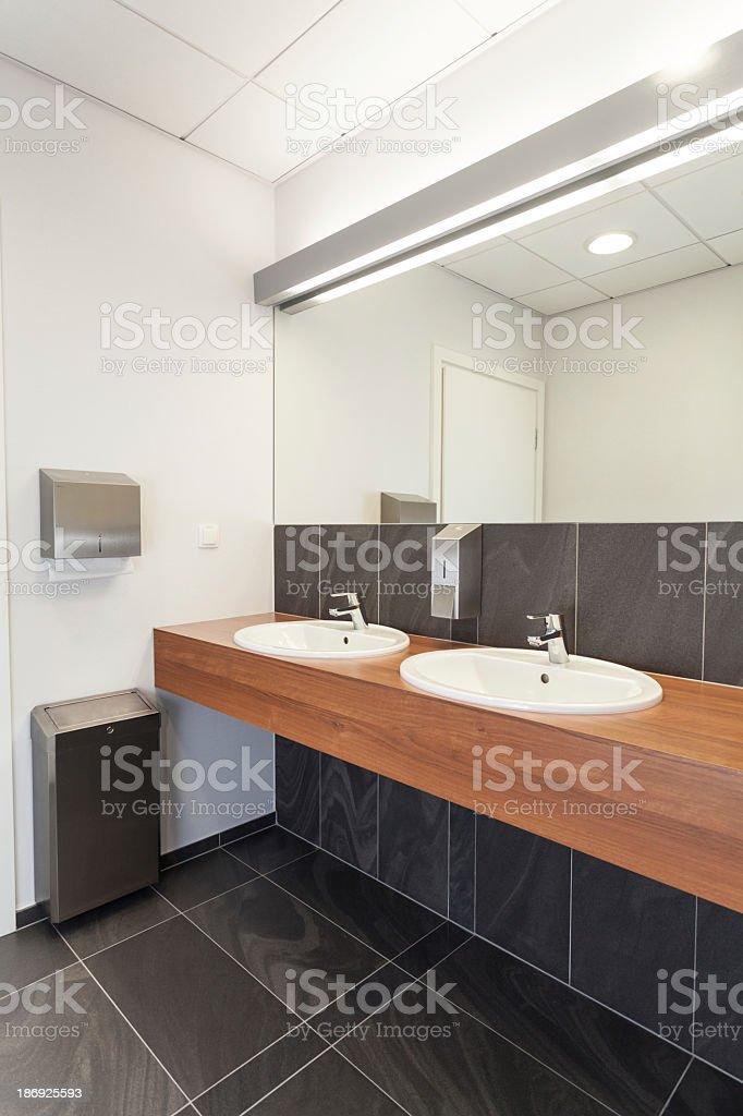 Public bathroom royalty-free stock photo