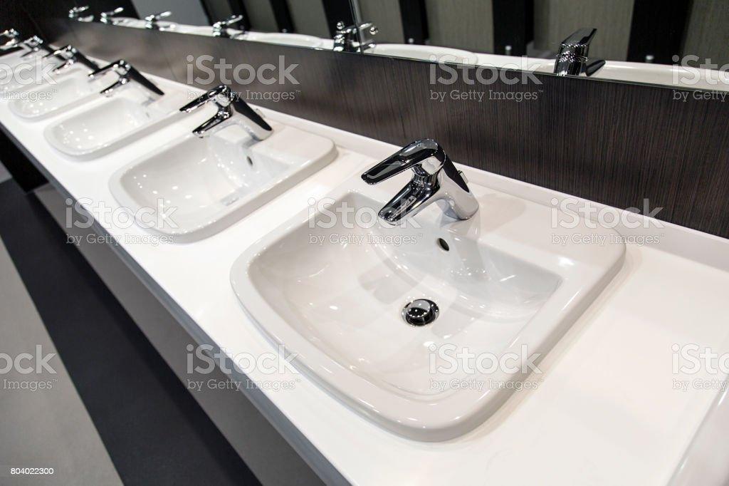Public Bathroom stock photo