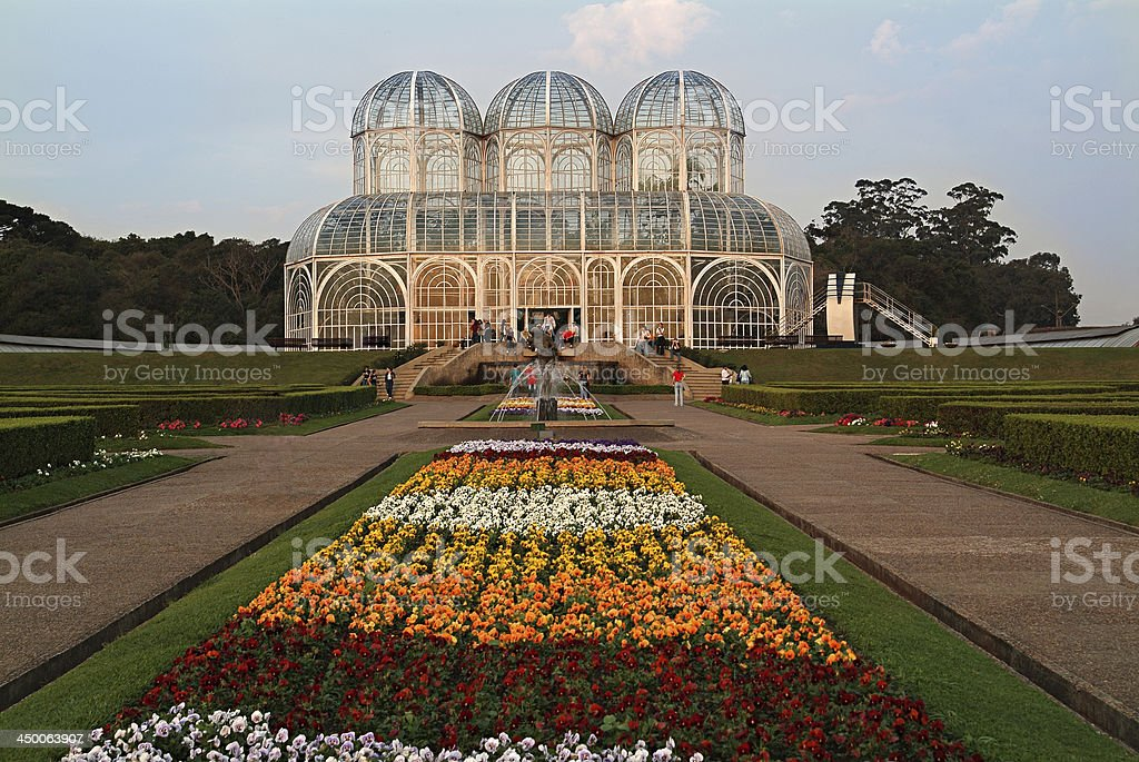 Public Botanical Garden Curitiba/Brazil stock photo