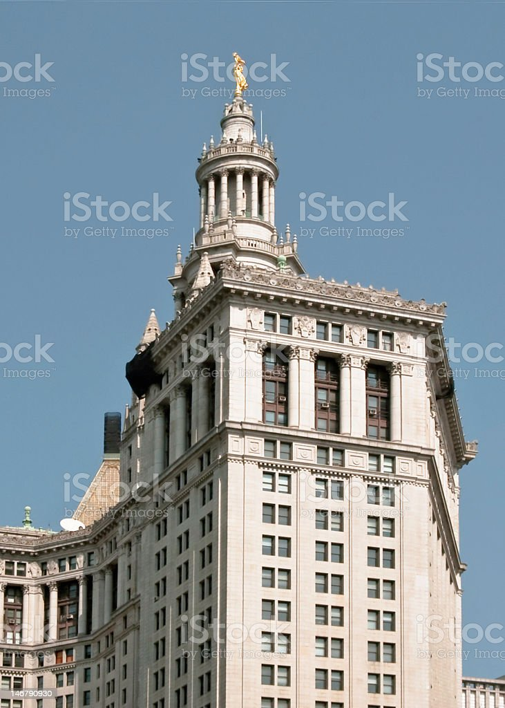Public Building in NYC stock photo
