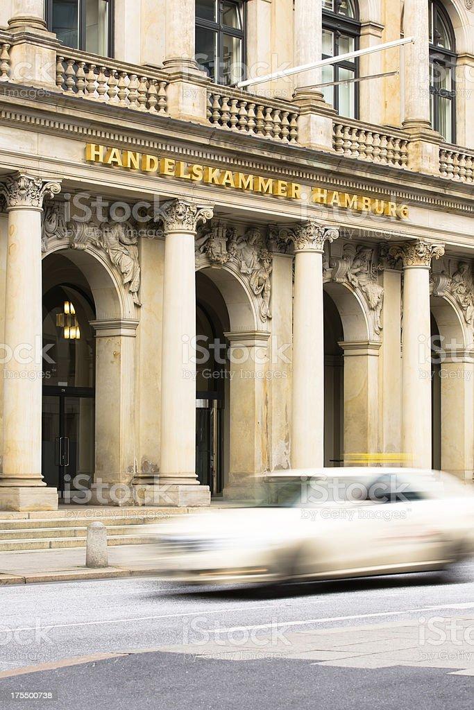 public chamber Commerce in the Cityhall of Hamburg stock photo