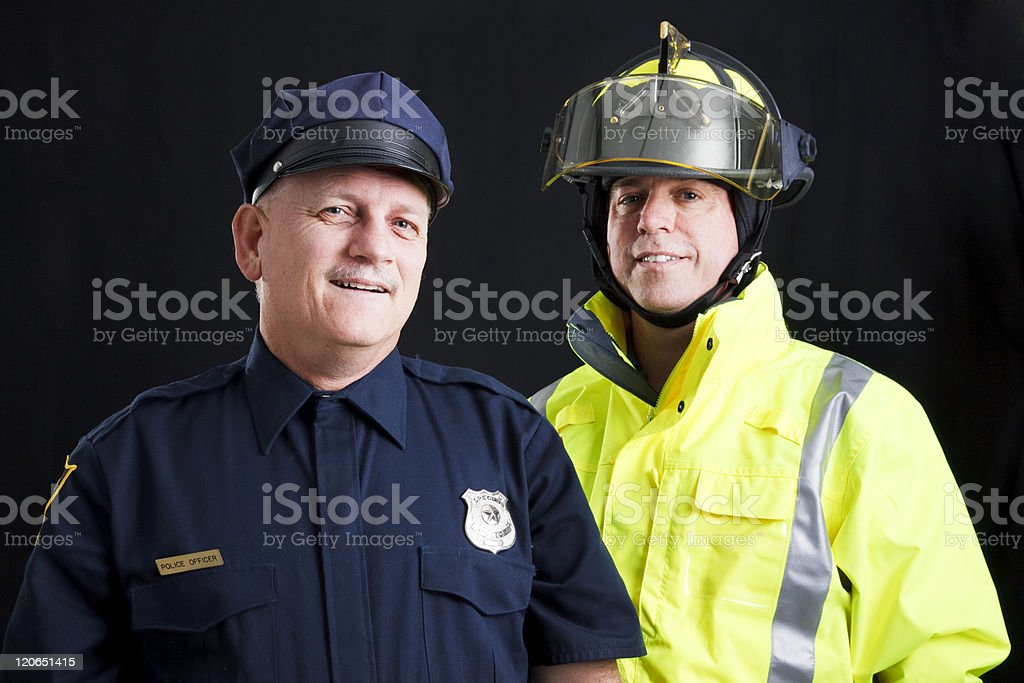 Public Employees Happy stock photo