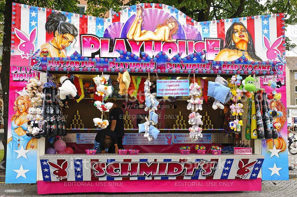 public festival stock photo