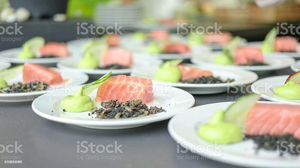 Public Food Festival Event stock photo