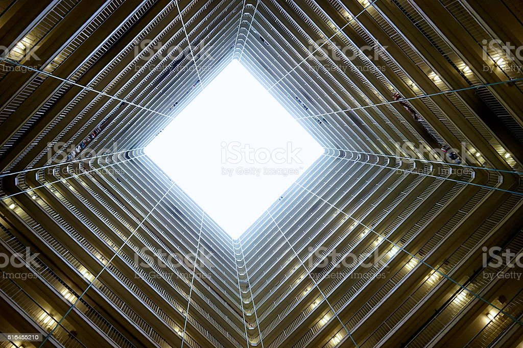 Public Housing Estate in Hong Kong stock photo