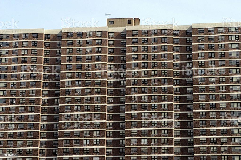 Public Housing royalty-free stock photo