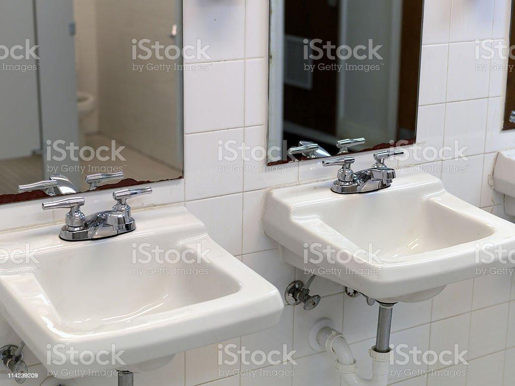 Public lavatory royalty-free stock photo