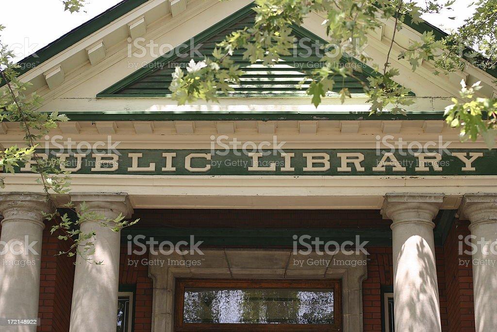 'Public Library - Lindsay, ON' stock photo