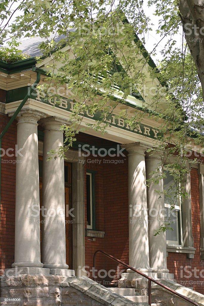 Public Library  - Lindsay, ON. stock photo