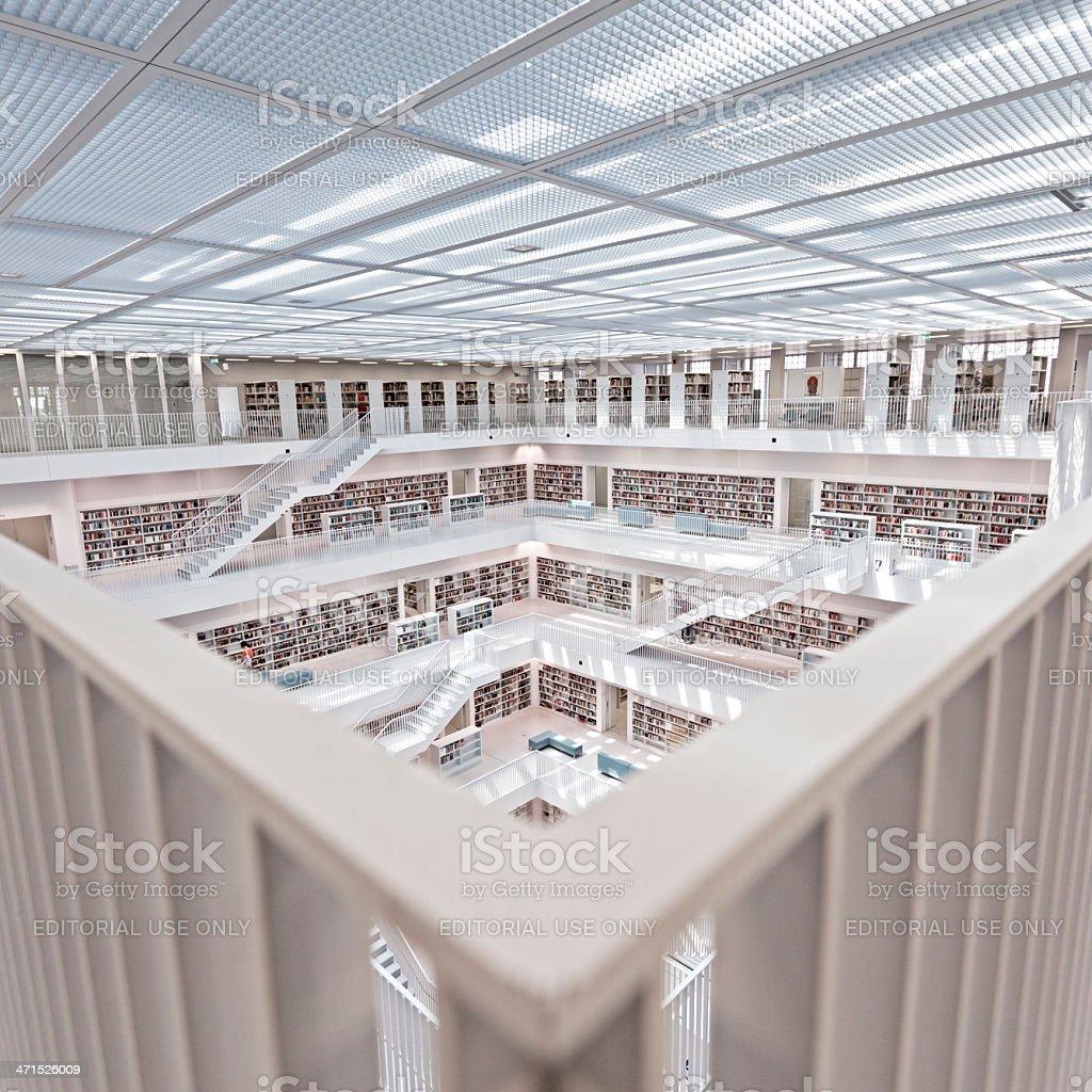 Public library royalty-free stock photo