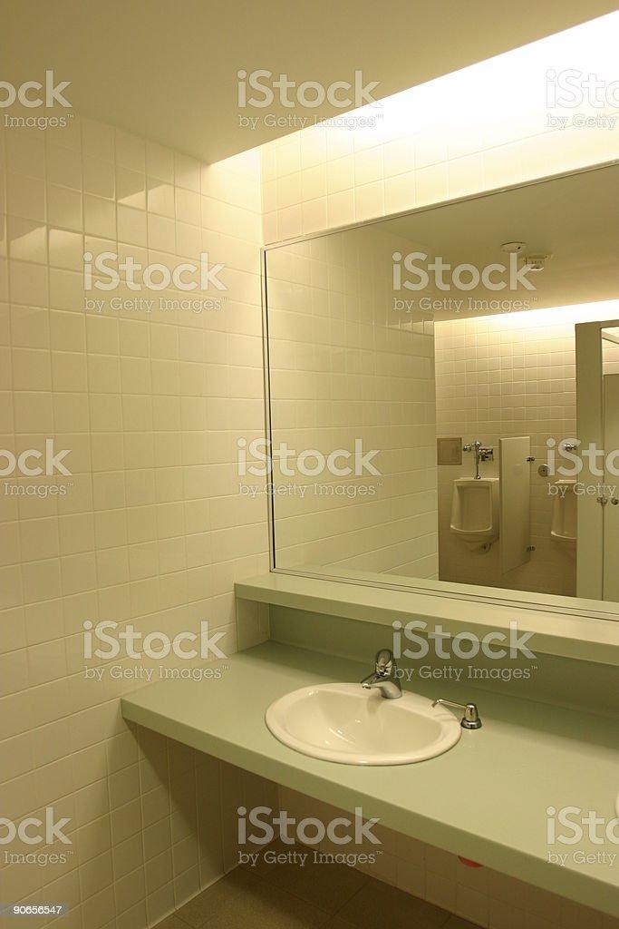 Public Men Restroom royalty-free stock photo