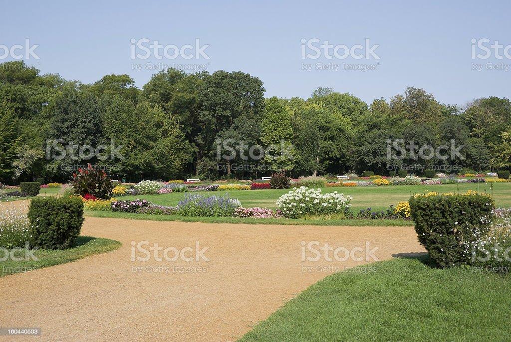 public park royalty-free stock photo