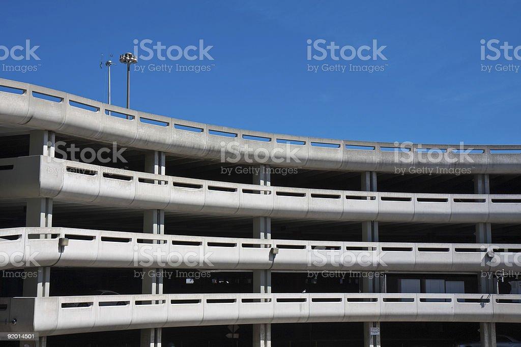 Public Parking Lot stock photo