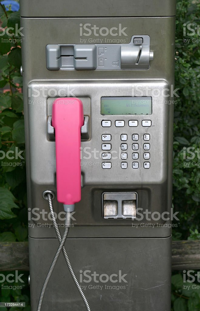 public phone box royalty-free stock photo
