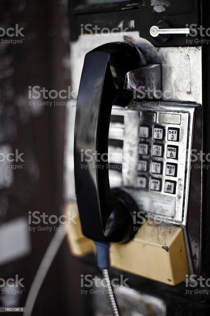 Public phone royalty-free stock photo