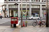 Public post box japan