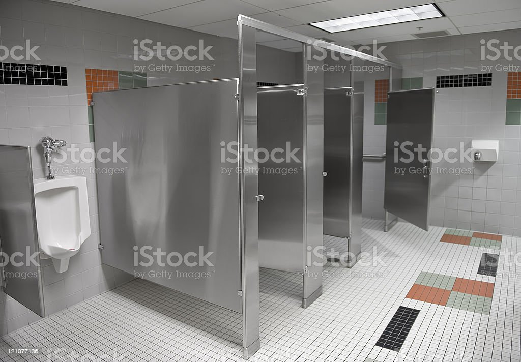 Public Restroom stock photo
