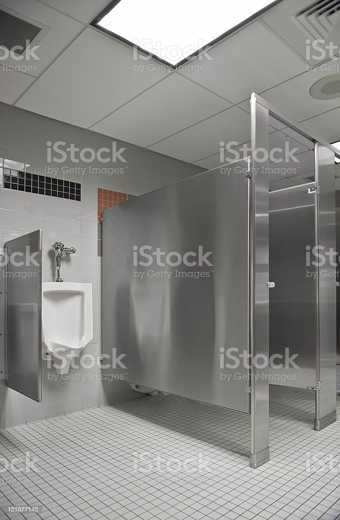 Public Restroom royalty-free stock photo