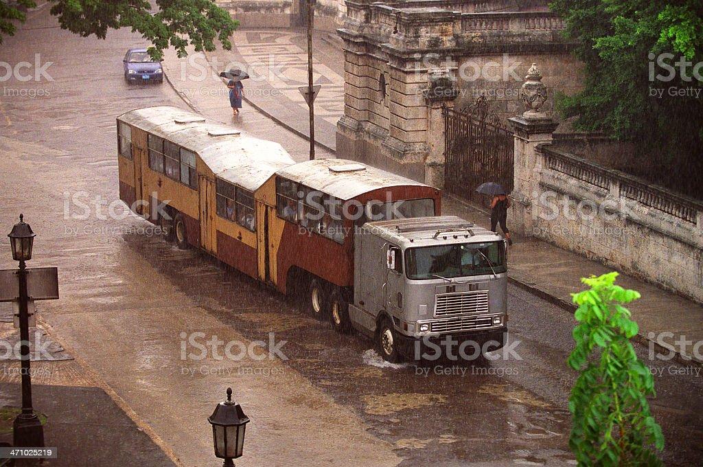 Public ride, Havana stock photo