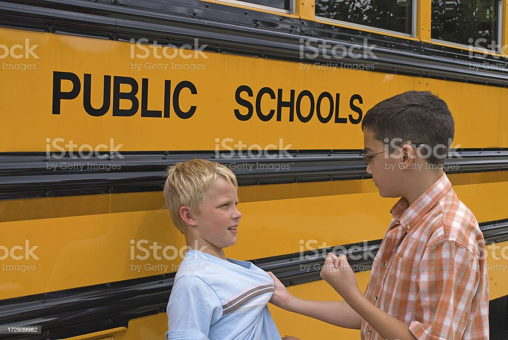 Public School Bullying royalty-free stock photo