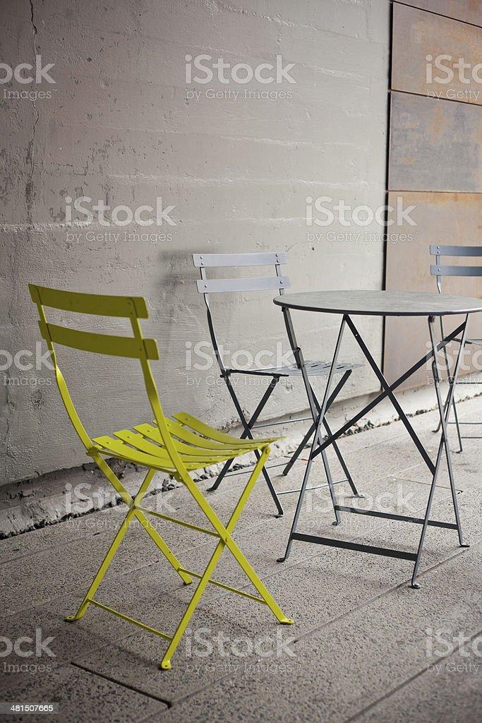 Public Seating stock photo