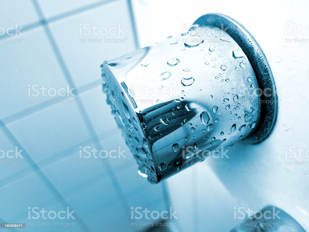 public shower room royalty-free stock photo