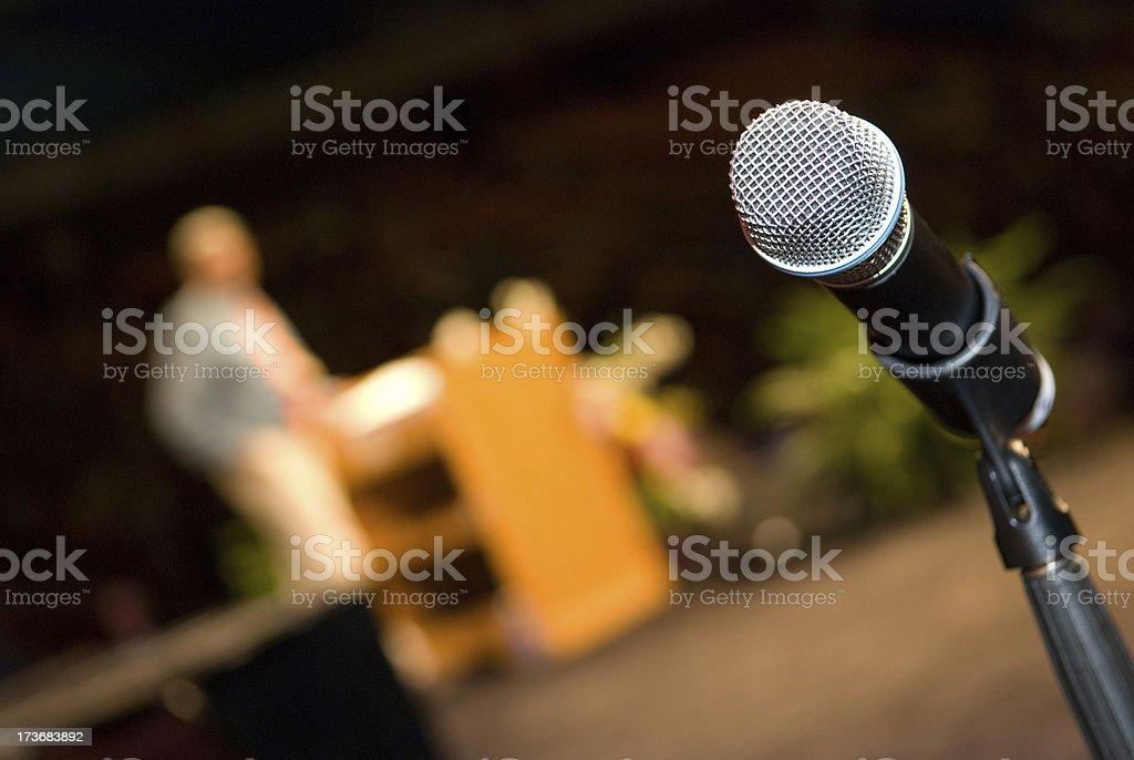Public Speaking - Making A Presentation royalty-free stock photo