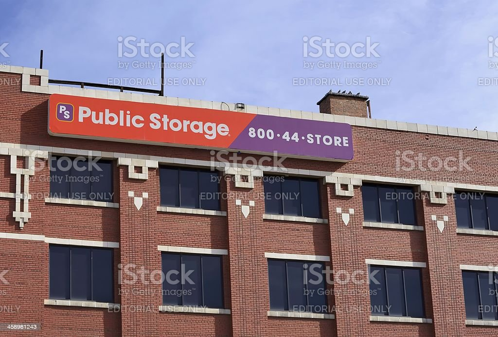Public Storage, Denver royalty-free stock photo