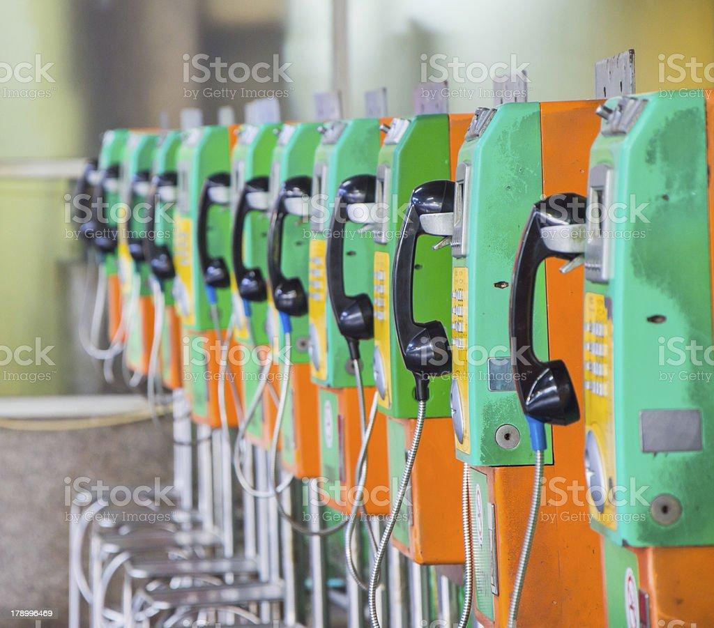 public telephone royalty-free stock photo