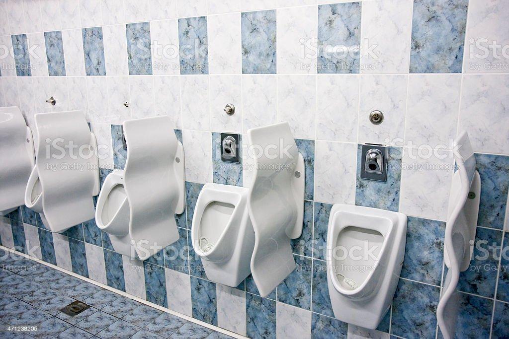 Public toilet royalty-free stock photo