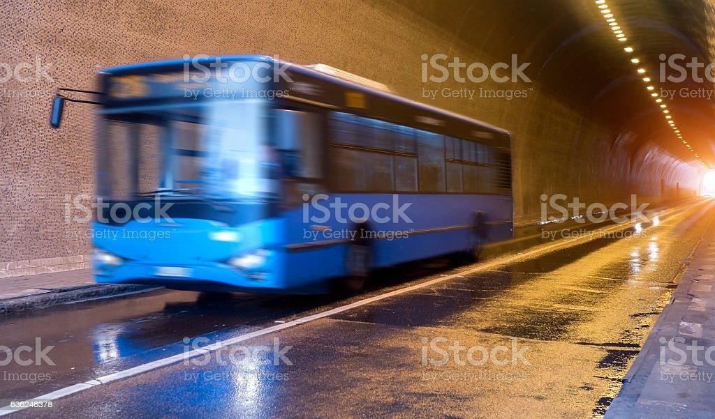 Public transport in Budapest stock photo