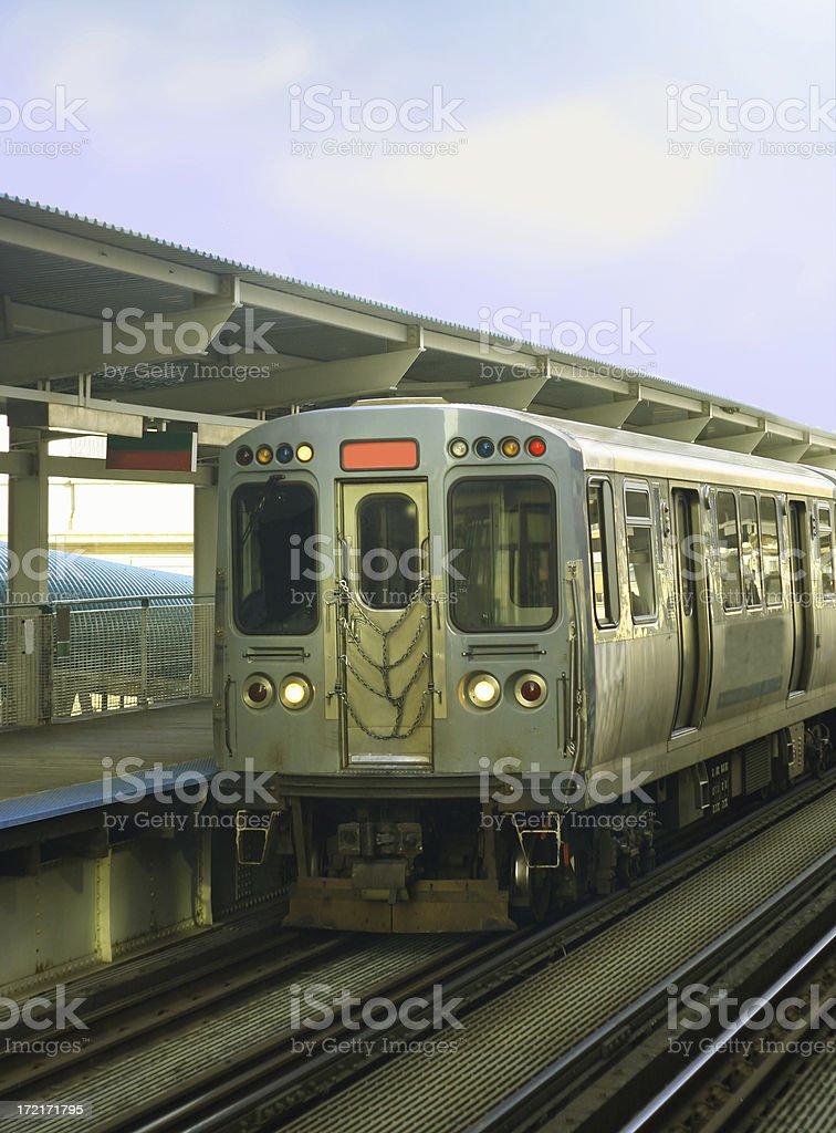 Public Transportation royalty-free stock photo
