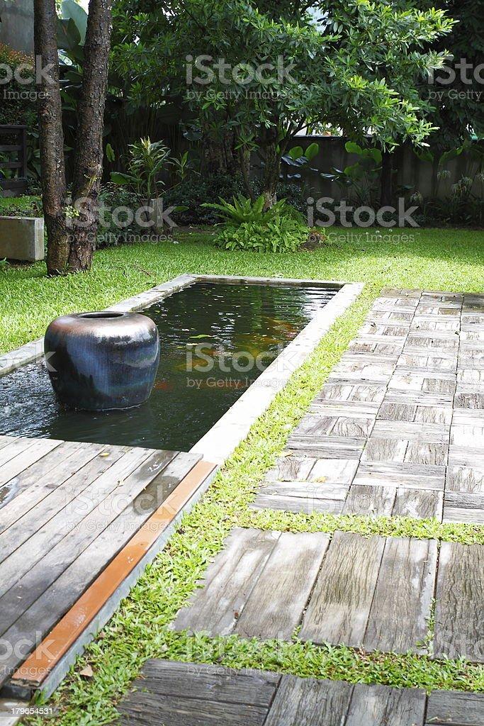 Publicznych tropikalny ogród zbiór zdjęć royalty-free