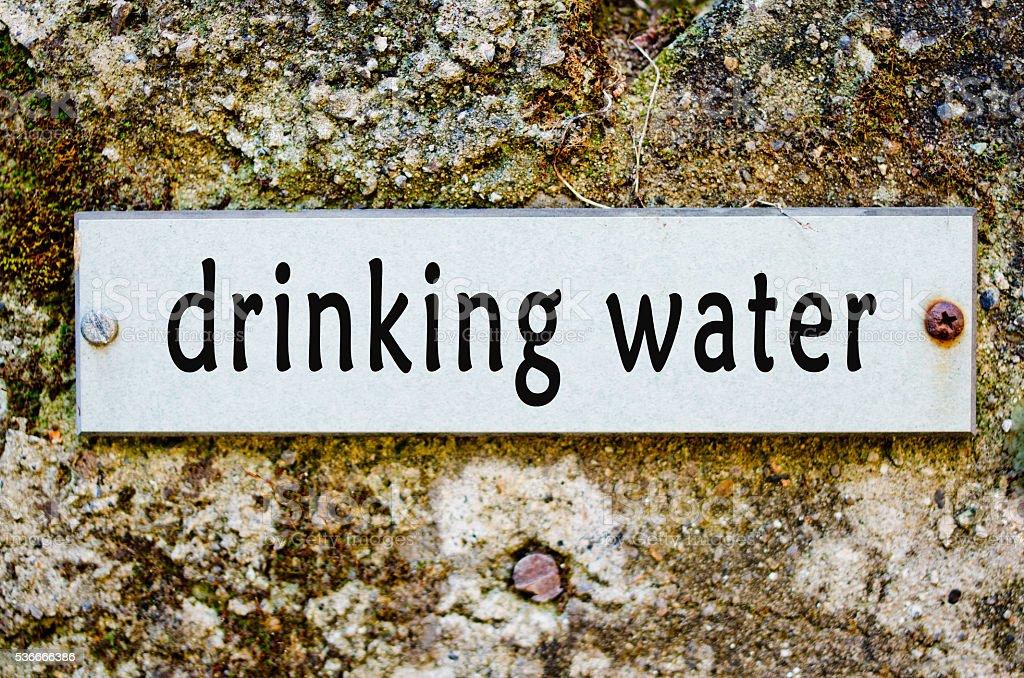 public water stock photo