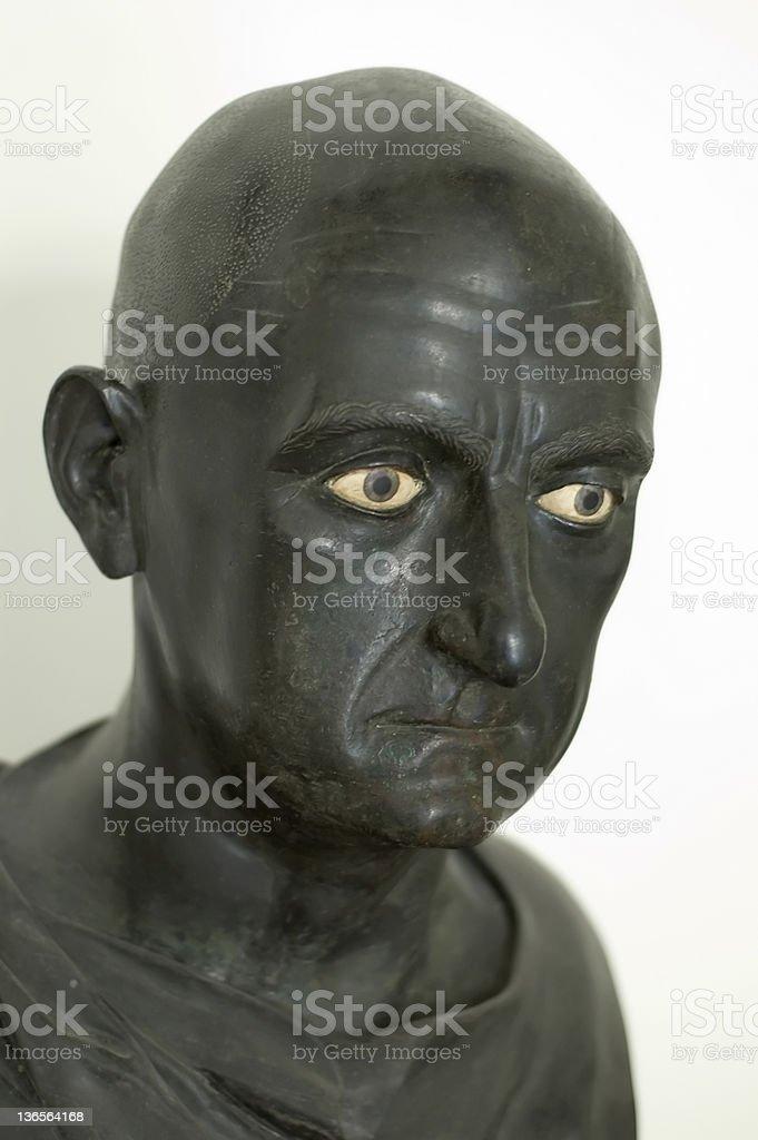Publius Cornelius Scipio Africanus royalty-free stock photo