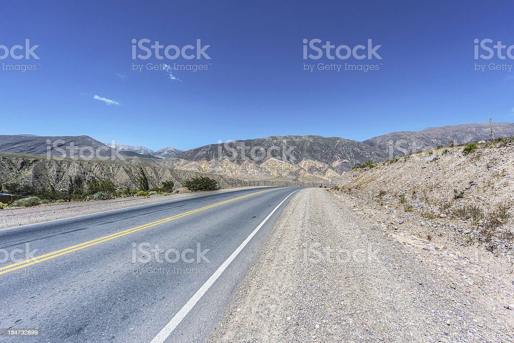 Pucara, Quebrada de Humahuaca, Jujuy, Argentina. royalty-free stock photo
