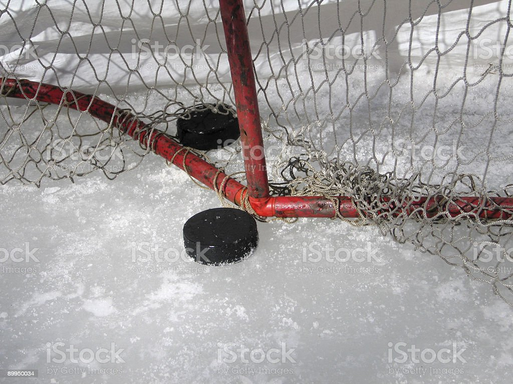 Puck Practice royalty-free stock photo