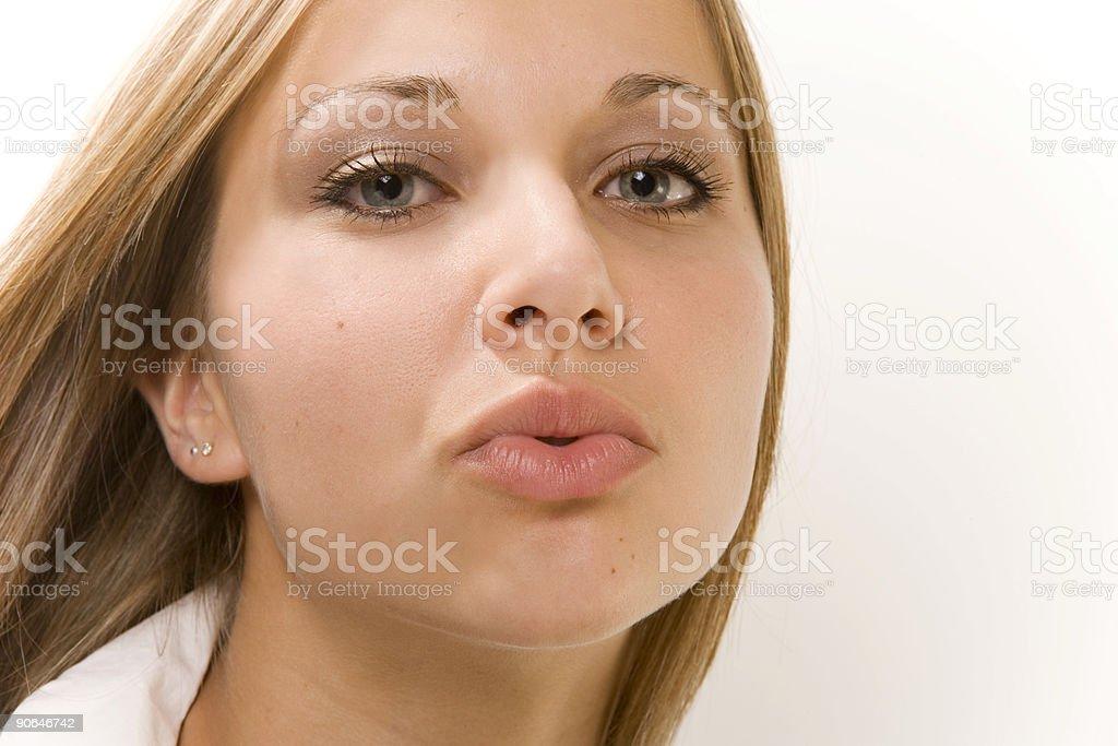 Pucker Up ! stock photo
