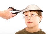 Pudding Bowl Haircut