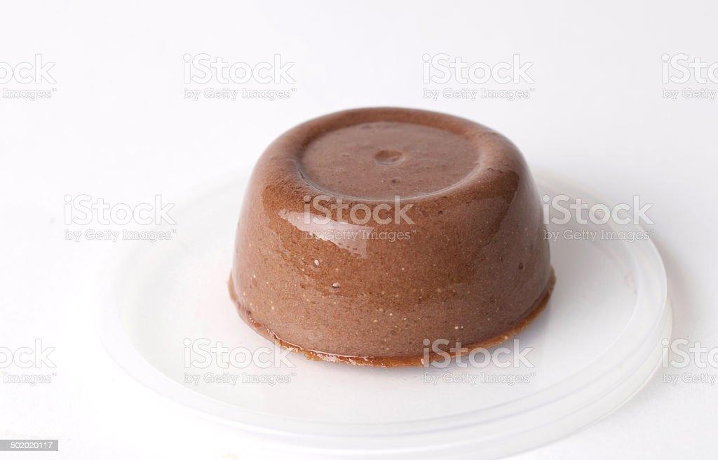 Pudding Chocolate stock photo