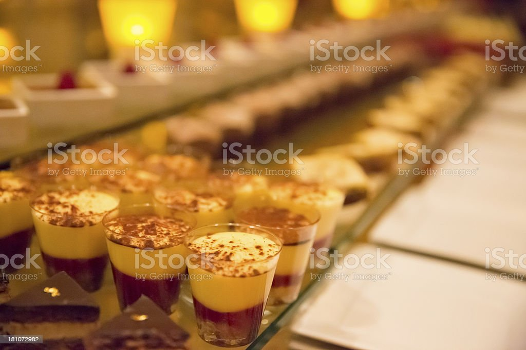 Pudding ready to be eaten royalty-free stock photo