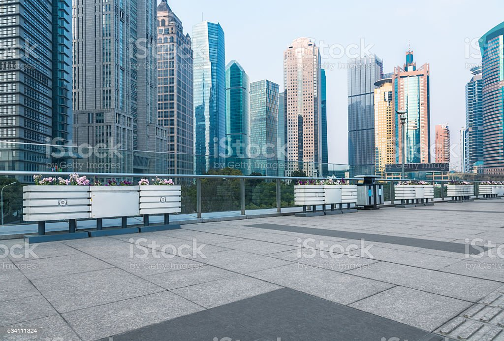 pudong district,shanghai stock photo